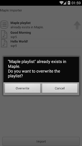 【免費音樂App】Maple Importer-APP點子