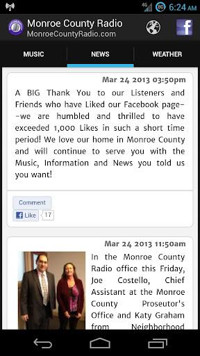 【免費音樂App】Monroe County Radio-APP點子