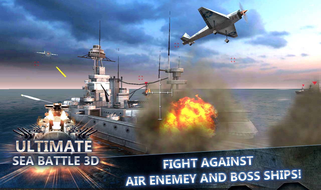 Sea Battle :Warships (3D)- screenshot