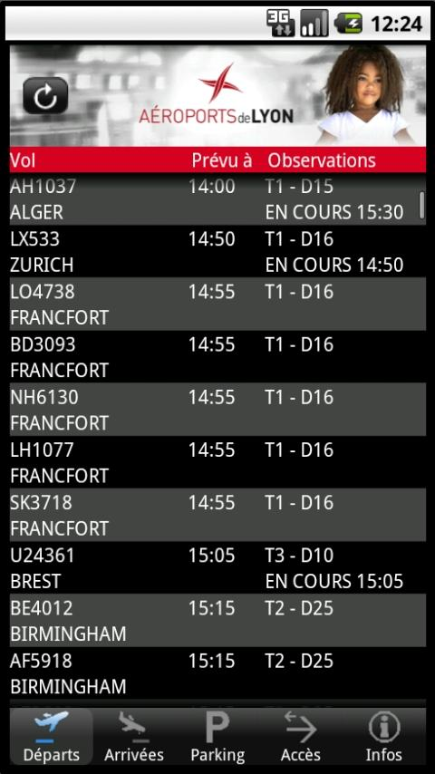 Lyon Airport- screenshot