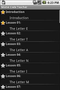 Morse Code Teacher