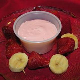 Easy Fruit Dip.
