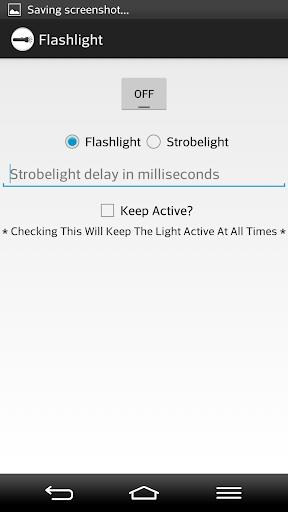 LED Flash and Strobe Light