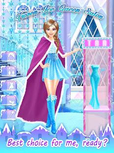 Game Frozen Ice Queen Salon APK for Windows Phone