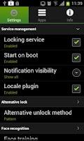Screenshot of Visidon AppLock Plus