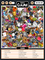 Screenshot of Hidden Object: Daily Collage