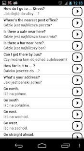 Learn Polish Conversations PRO- screenshot thumbnail