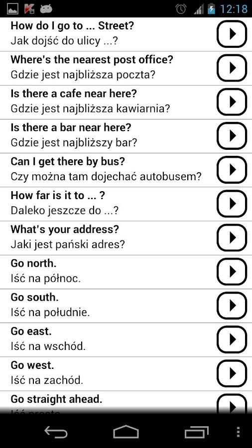 Learn Polish Conversations PRO- screenshot