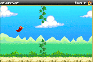 Screenshot of Fly Birdy, Fly