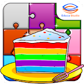 Marbel Puzzle (Food Series)