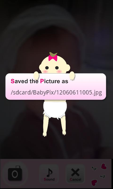 BabyPix- screenshot
