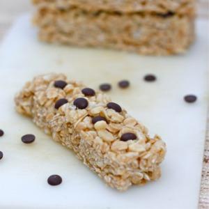 Healthy No Bake Kettle Corn Granola Bars