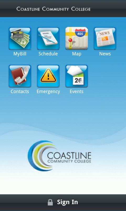 Coastline Community College- screenshot