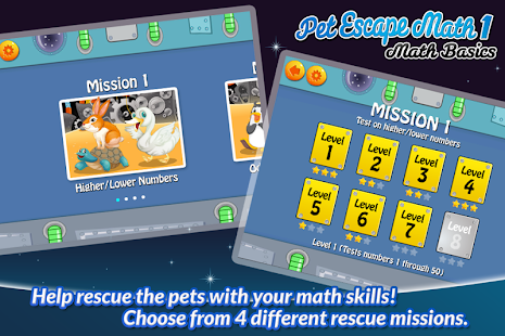 Pet Escape Math 1: Math Basics- screenshot thumbnail