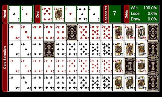 Average winning hand in texas holdem