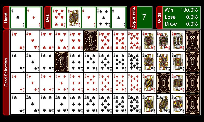 Texas Holdem Hand Calculator