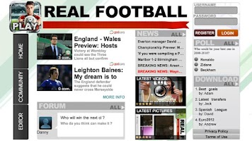 Screenshot of Real Football 2012