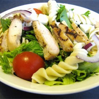 Grilled Chicken and Pasta Salad.