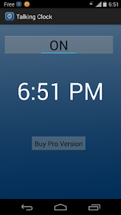 Talking Clock PRO- screenshot thumbnail