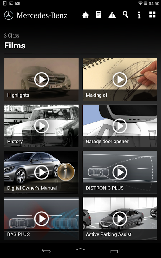 Mercedes benz guides android apps auf google play for Mercedes benz apps