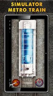 模拟地铁列车