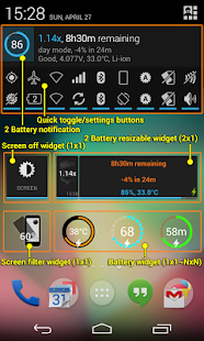 2 Battery Pro - Battery Saver Screenshot