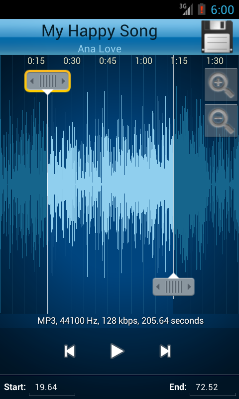 Screenshots of MP3 Cutter and Ringtone Maker♫ for iPhone