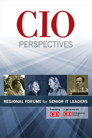 CIO Perspectives - screenshot