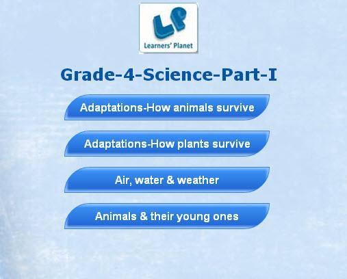 玩教育App|Grade-4-Science-Part-1免費|APP試玩