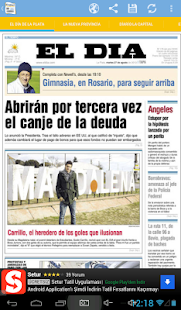 Front Pages of Argentina