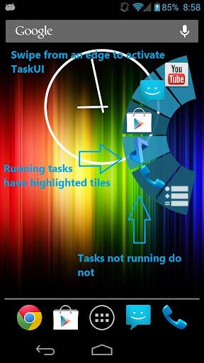 Task UI Plus Key