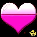 Battery Crystal Heart Widget icon