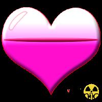 Battery Crystal Heart Widget 1.0