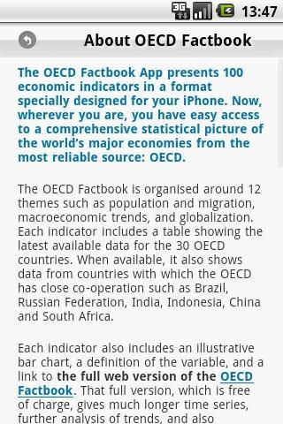 OECD Factbook 2011/2012 - screenshot