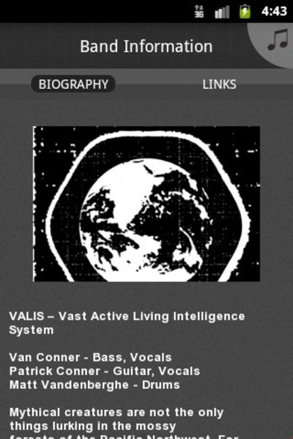 VALIS - screenshot