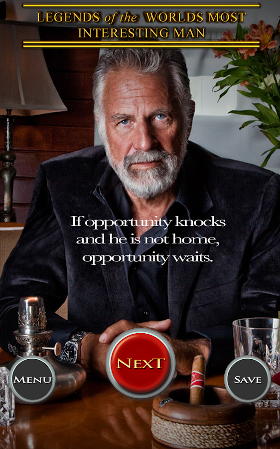 Most Interesting Man - screenshot