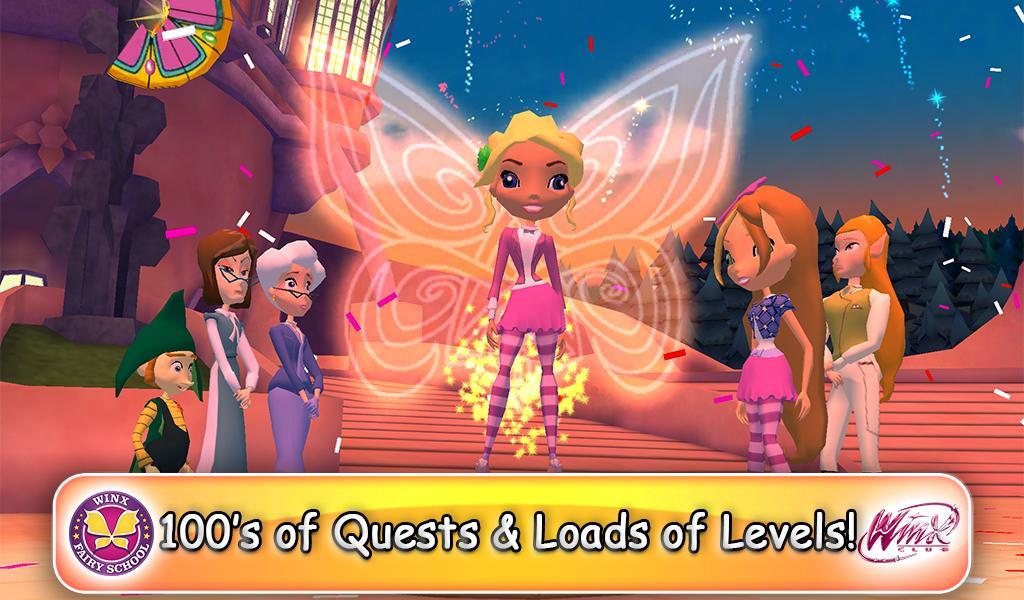 Winx Fairy School Lite screenshot 1