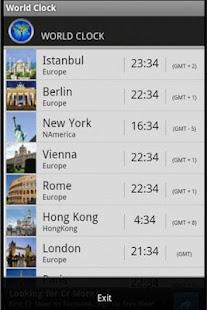 玩旅遊App World Clock免費 APP試玩