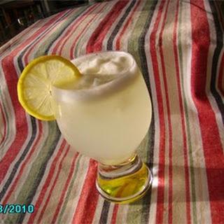 Icy Lemonade Slush.