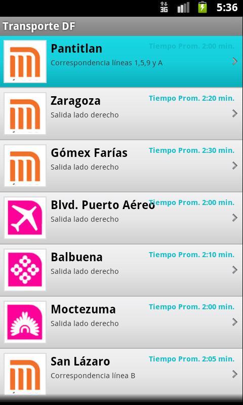 Metro Metrobus Turibus Sub. - screenshot