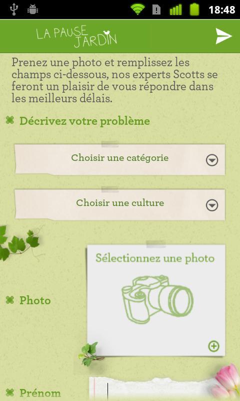 La pause jardin android apps on google play for Jardin google translate