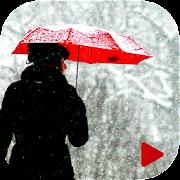 Christmas Snow Video Maker