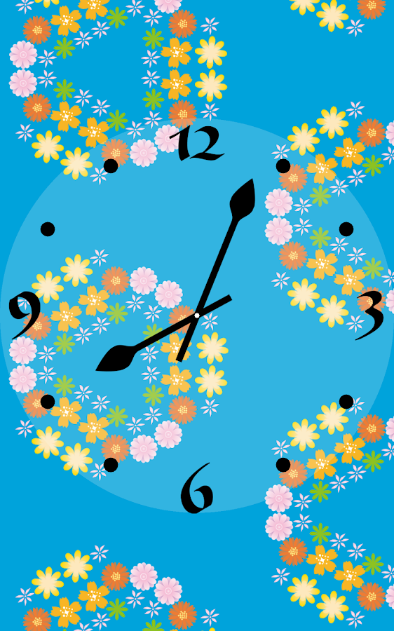 KaleidoscopeClock -Flower-- screenshot