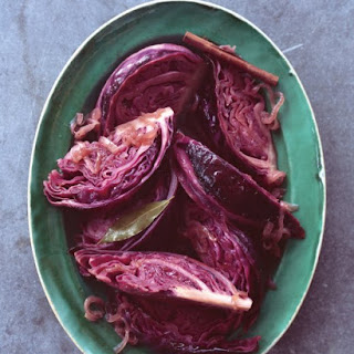 Braised Red Cabbage with Caramelized Onion and Cider