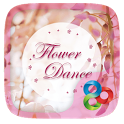 Flower Dance GO Launcher Theme icon