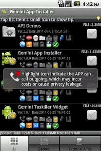 Gemini Installer & Clear - screenshot thumbnail