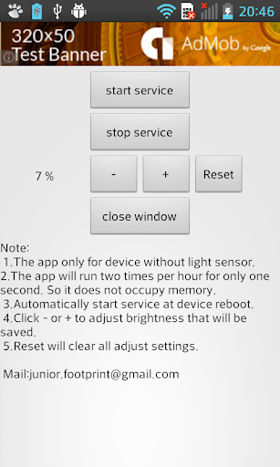 玩免費工具APP|下載Screen Brightness Settings app不用錢|硬是要APP