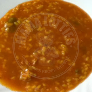 BROTHY STEWED RICE (Arroz Caldosa)
