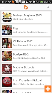 Bonfyre - Photo Sharing App - screenshot thumbnail