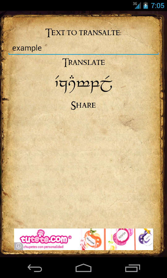 Elfic - Elvish T...Elvish Translator App